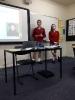 Charlotte und Alina stellen Martin Luther vor